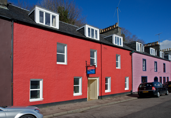 Carnaburg Exterior on Main Street, Tobermory © A. M. Oldacre